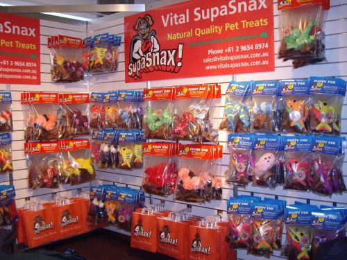 Vital SupaSnax Stand at the Pet and Animal Expo 2007