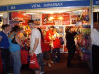 SupaSnax stand at Sydney Pet and Animal Expo 2007